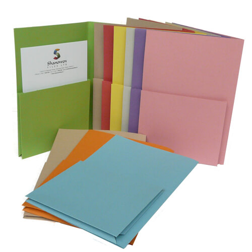 single upright folders